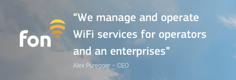 運営会社はWi-Fiで有名な外資系ベンチャー企業