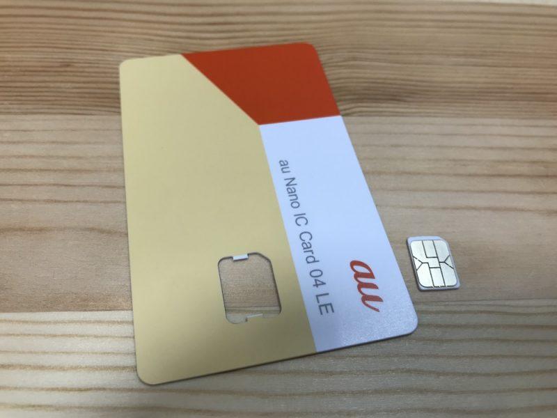 WiMAXのnanoSIMカード(Ver.4)