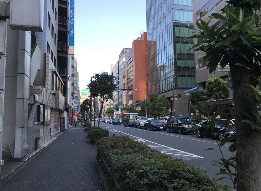 東京・南池袋2丁目付近