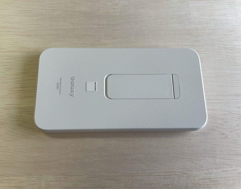 【SCR01】Galaxy 5G Mobile Wi-Fi 背面