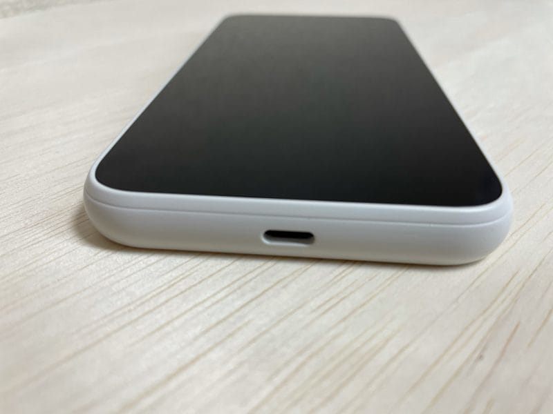 【SCR01】Galaxy 5G Mobile Wi-Fi USBインターフェース